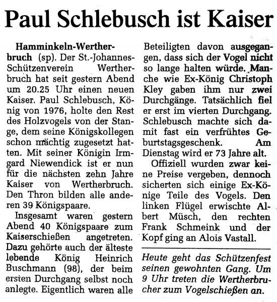 Zeitung-Kaiser