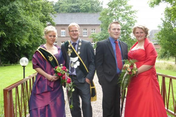 Königs- und Vizekönigspaar
