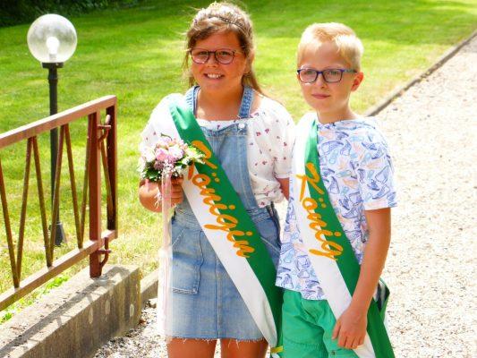 Kinderkönigspaar 2018 Maike Ingenhorst und Luis Termath